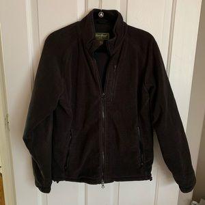 Men's zip up fleece jacket